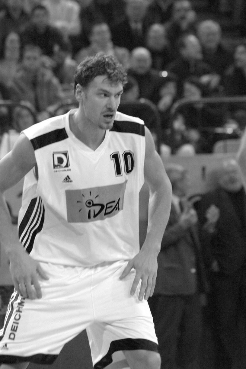 Adam Wójcik w 2004 roku w barwach Śląska Wrocław /East News