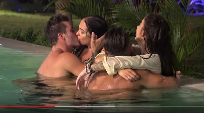 """Adam z Violą oraz Chris i Marietta w """"Hotelu Paradise"""" /TVN7 /materiał zewnętrzny"""