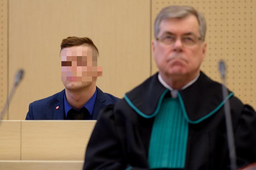 Adam Z. w czasie rozprawy /Jakub Kaczmarczyk /PAP