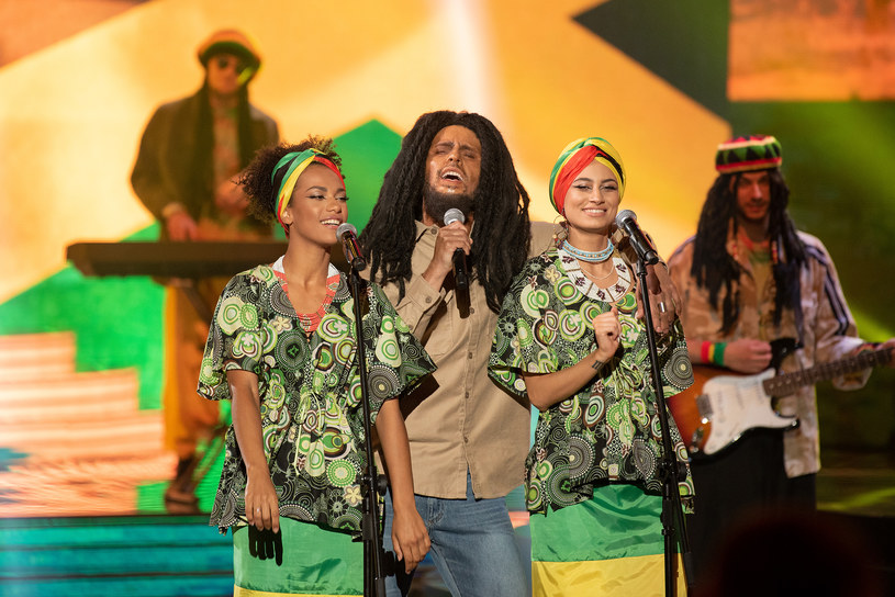 Adam Zdrójkowski jako Bob Marley /Polsat