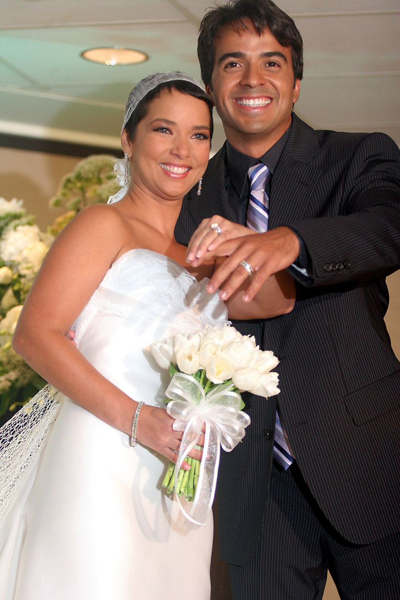 Adamari Lopez i Luis Fonsi /GV Cruz /Getty Images