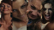 Adamczyk z pięcioma kobietami