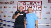 Adamek - Saleta. Karta walk Polsat Boxing Night