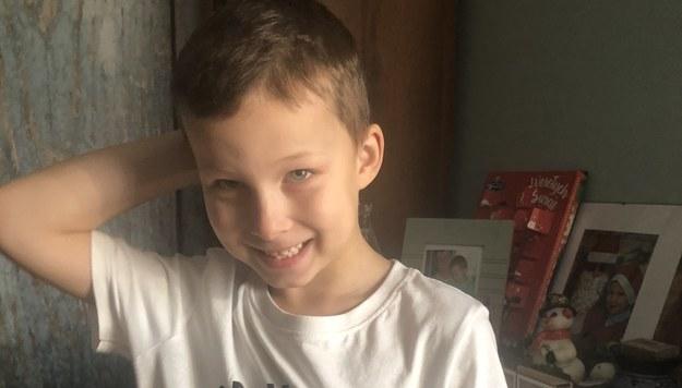 Adaś dziś ma 7 lat /Marek Balawajder /RMF FM