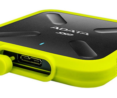 ADATA SSD SD700 External Durable 1TB - test dysku