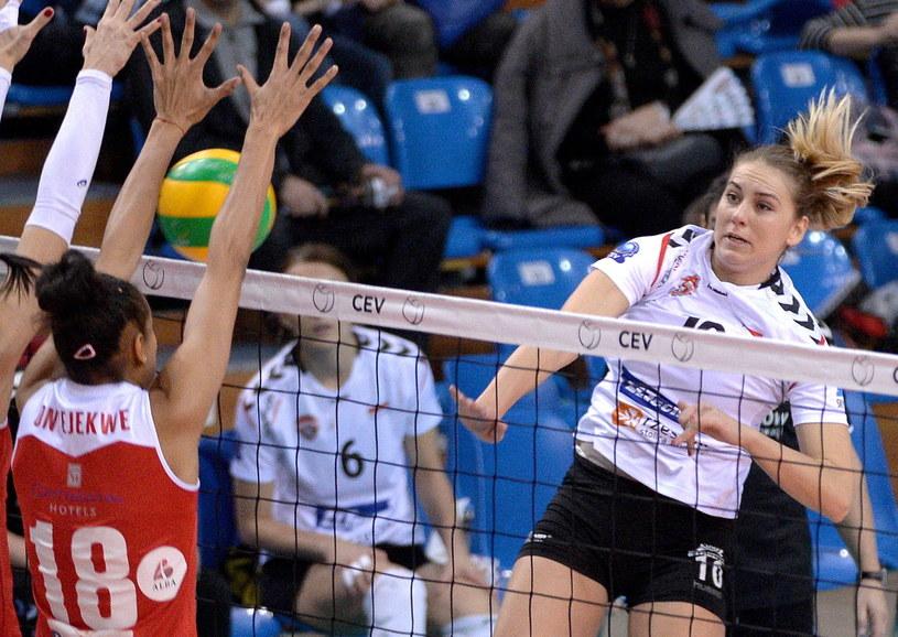 Adela Helić w meczu z Volei Alba /PAP