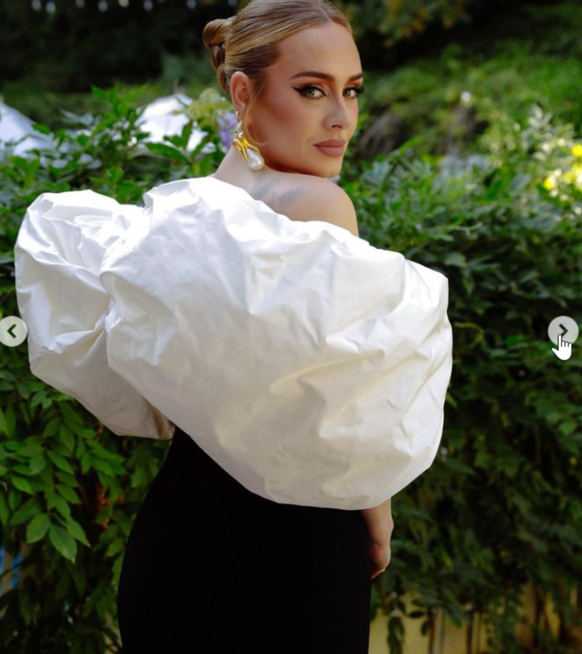 Adele, fot. https://www.instagram.com/schiaparelli/ /Instagram