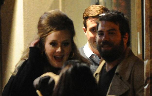 Adele i Simon Konecki /East News