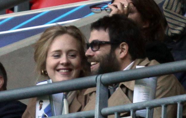 Adele i Simon Konecki /Splashnews