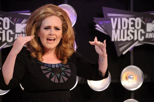 "Adele: ""Kogo nazywasz grubą?"" fot. Jason Merritt /Getty Images/Flash Press Media"