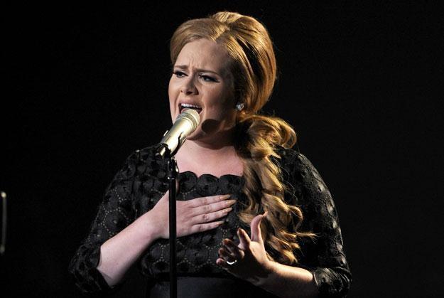 "Adele kpi z ""seksownych"" gwiazd fot. Kevin Winter /Getty Images/Flash Press Media"