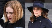 Adele, księżna Kate, książę William i Harry oddali hołd zmarłym w wieżowcu Grenfell