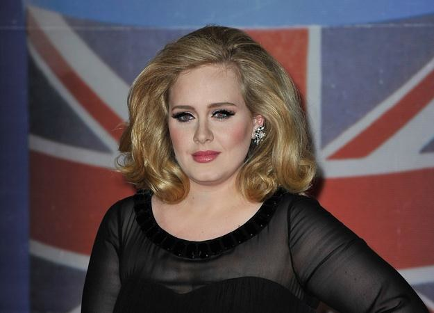 Adele na gali Brit Awards 2012 - fot. Gareth Cattermole /Getty Images/Flash Press Media
