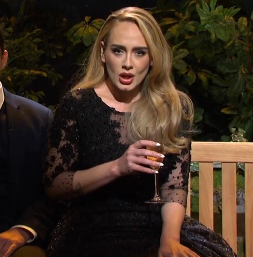 Adele obecnie /materiał zewnętrzny