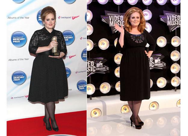 Adele pasuje stylizacja na lata 50. /Getty Images/Flash Press Media