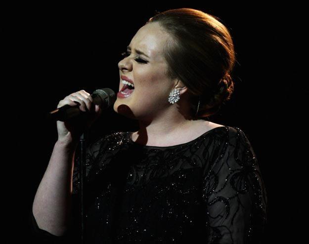 Adele podczas występu na Brit Awards 2011 - fot. Dave Hogan /Getty Images/Flash Press Media