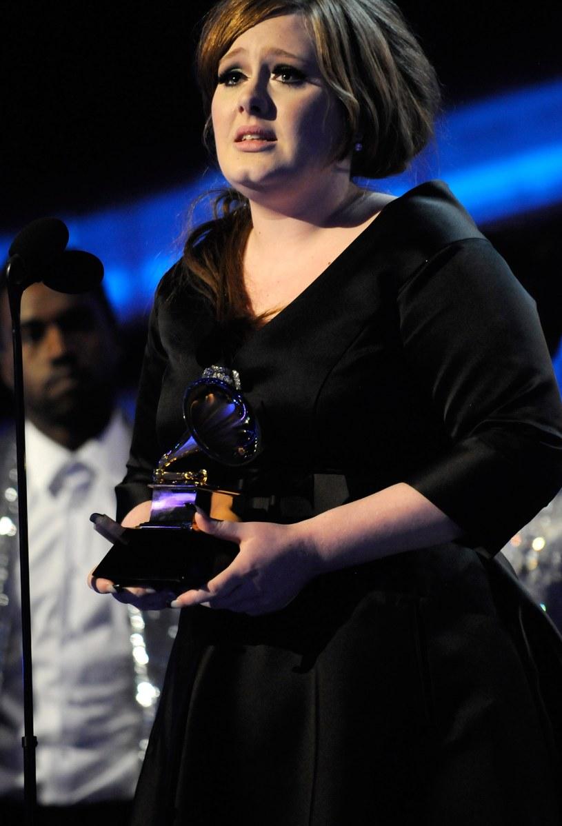 Adele przed przemianą /Kevin Mazur /Getty Images