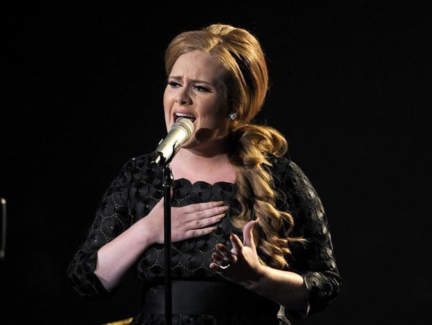 Adele szykuje się już do występu na lutowej gali Brit Awards - fot. Kevin Winter /Getty Images/Flash Press Media