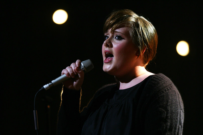 Adele w 2007 r. /fot. Gareth Cattermole /Getty Images