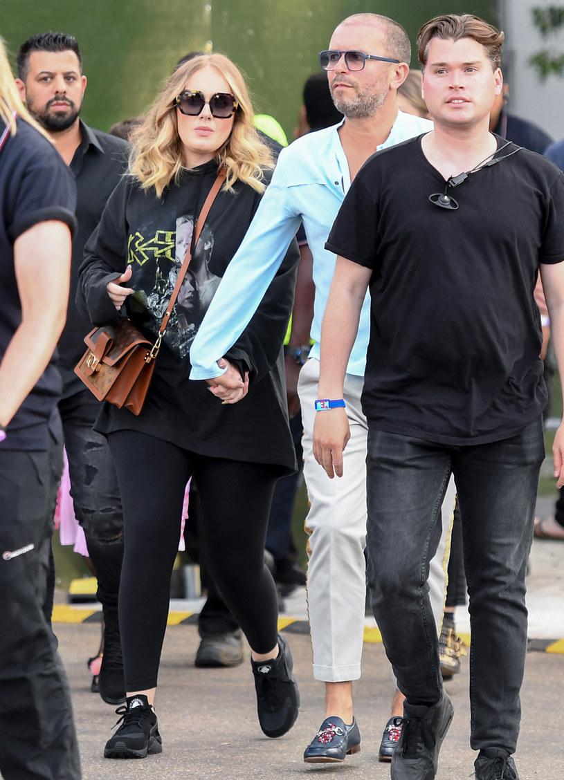 Adele w lipcu tego roku /Dave J Hogan /Getty Images