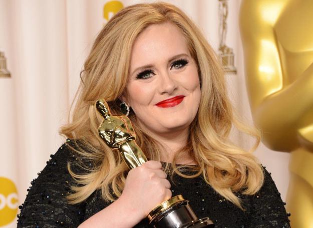 """Adele właśnie dostała Oscara za piosenkę """"Skyfall"""" /Getty Images"""