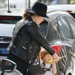 """Adele z synkiem w sklepie z zabawkami. Nie obyło się bez """"faka""""!"""