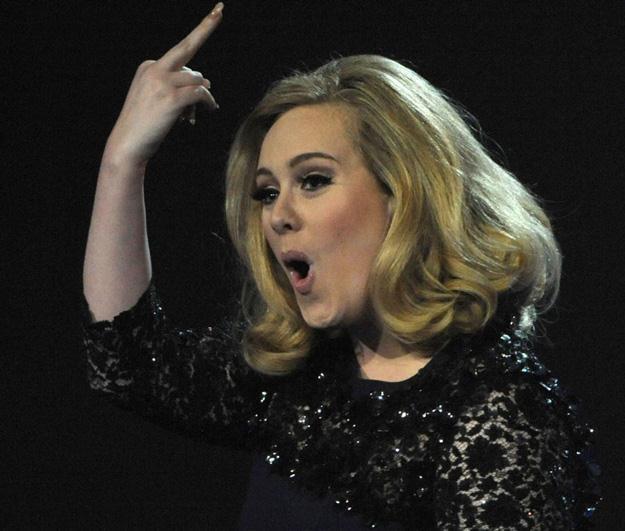 Adele zareagowała impulsywnie - fot. Brian Rasic / Rex Features /East News
