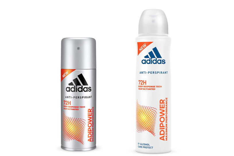 adidas: Antyperspirant Adipower /materiały prasowe