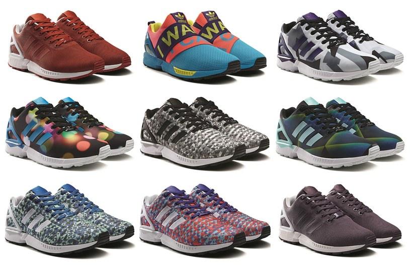 Adidas Flux - do wyboru, do koloru! /materiały prasowe