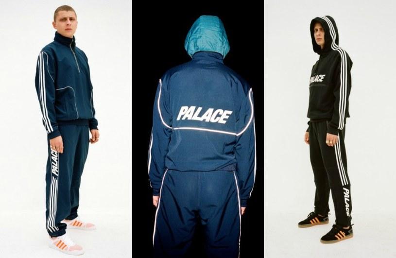 Adidas Palace: Welur, ortalion i trzy paski Menway w