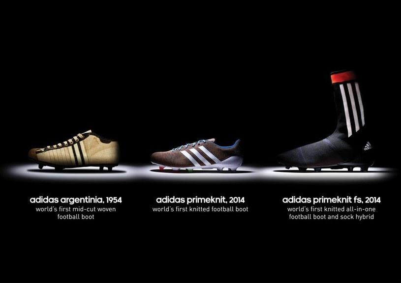 Adidas Primeknit - ewolucja /materiały prasowe