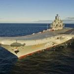 """""""Admirał Kuzniecow"""" zatopił pływający dok"""