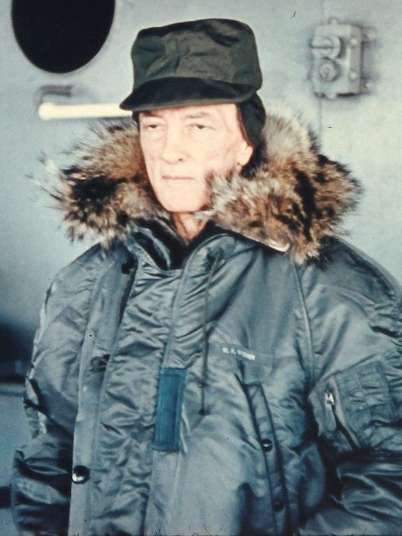 Admirał Richard E. Byrd w czasie operacji Deep Freeze /materiały prasowe