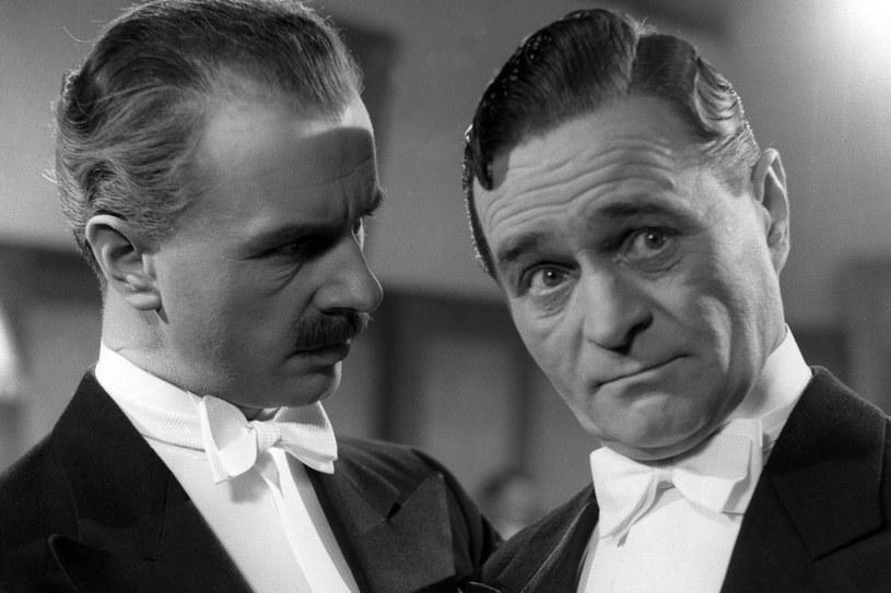 Adolf Dymsza (z prawej) w roli Nikodema Dyzmy /East News
