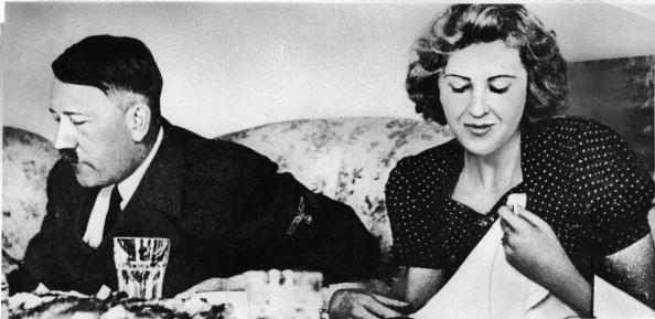 Adolf Hitler i Eva Braun /Getty Images