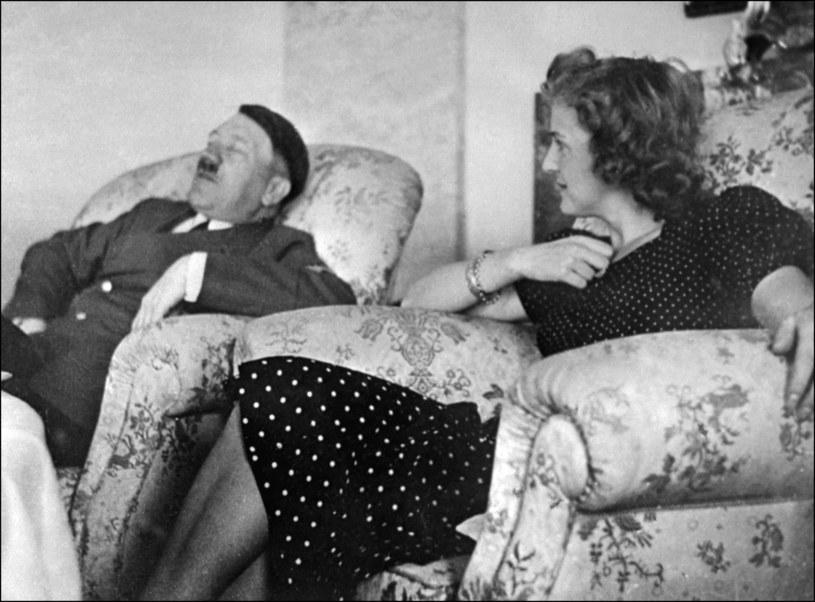 Adolf Hitler i Ewa Braun /AFP