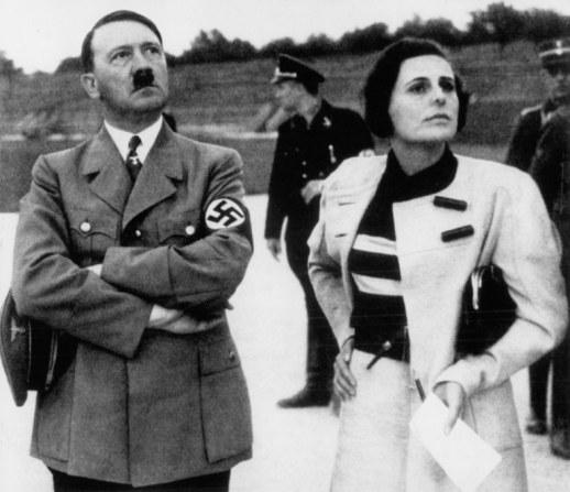 Adolf Hitler i Leni Riefenstahl /archiwum prywatne