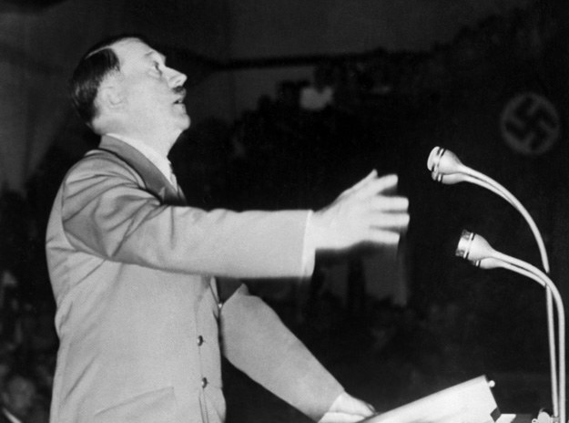 Adolf Hitler przyjmował m.in. bawole nasienie fot. France Presse Voir /AFP