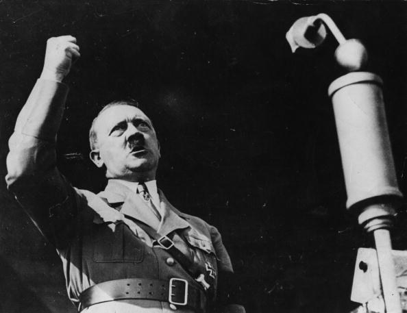 Adolf Hitler /Getty Images