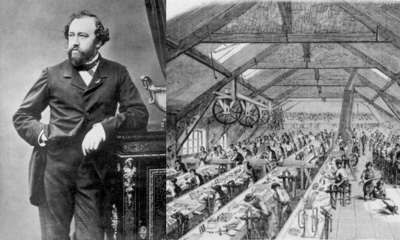 Adolphe Sax nie tylko zmienił oblicze muzyki. Wynalazca kilkukrotnie uciekł przed śmiercią /East News