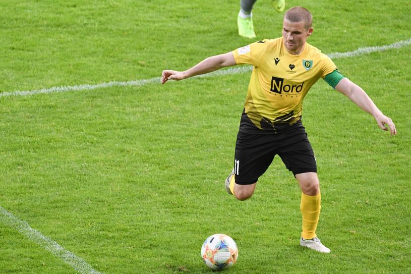 Adrian Błąd jest dziś piłkarzem GKS Katowice /Michał Dubiel /Reporter