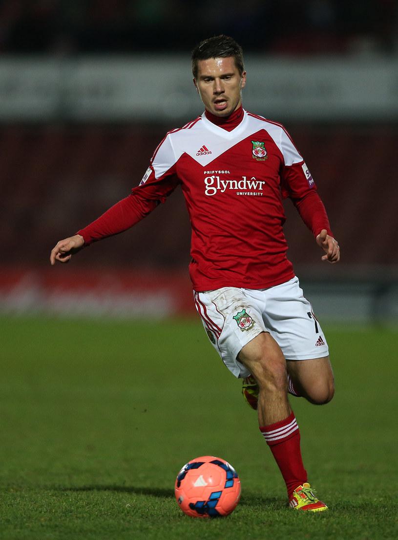 Adrian Cieślewicz jeszcze w barwach Wrexham AFC /Clive Brunskill /Getty Images