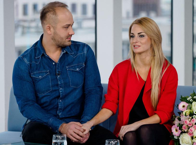 """Adrian i Anita w """"Dzień dobry TVN"""" /Tomasz Urbanek /East News"""
