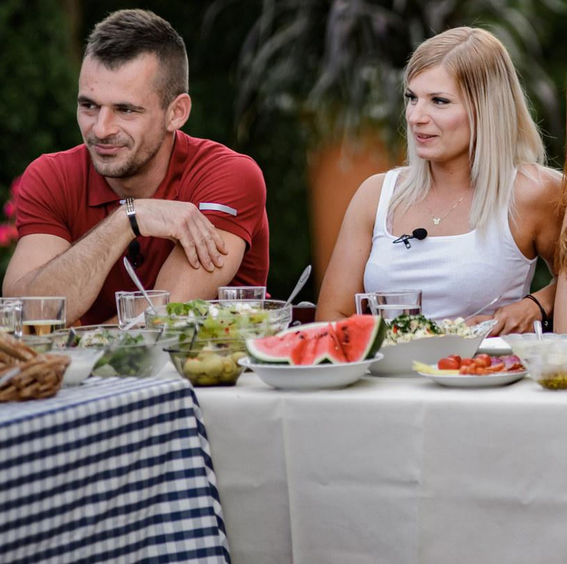 """Adrian i Ilona w """"Rolnik szuka żony"""" /TVP /Agencja FORUM"""