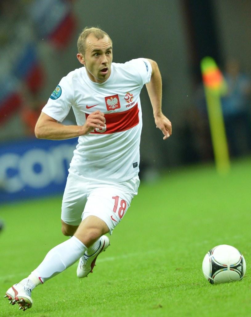 Adrian Mierzejewski, pomocnik reprezentacji Polski /AFP