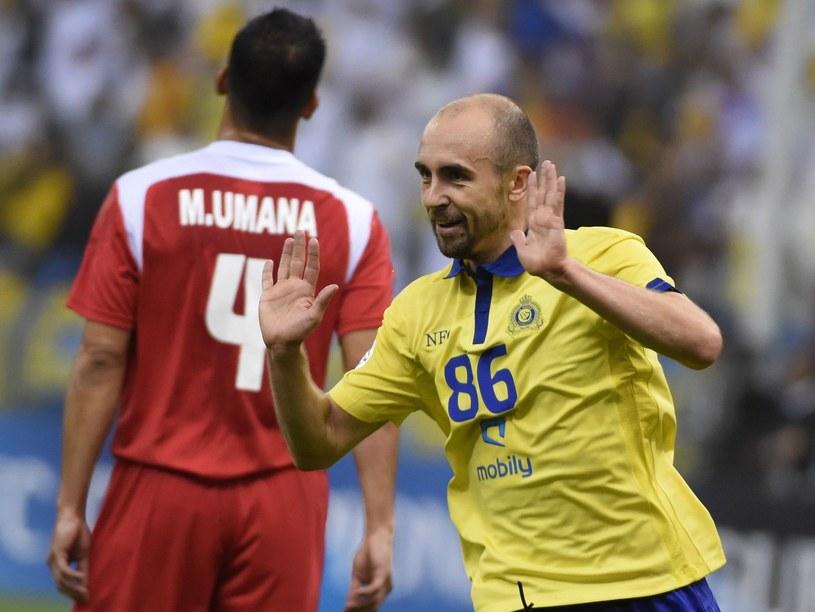 Adrian Mierzejewski w barwach saudyjskiego Al-Nassr /AFP