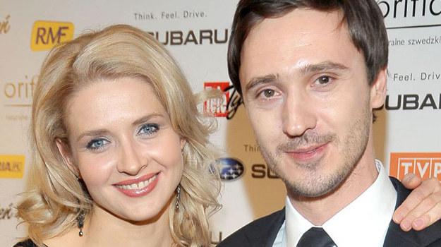 Adrian Ochalik, mąż Urszuli Grabowskiej, kilka lat temu zrezygnował z aktorstwa i zawodowo związał się z... piłką nożną. /- /Agencja W. Impact