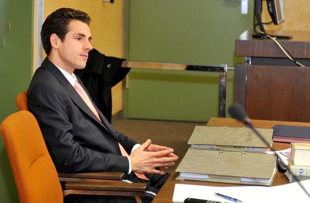 Adrian Sutil przed sądem w Monachium /AFP