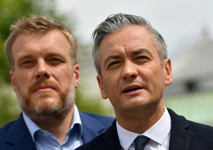 Adrian Zandberg i Robert Biedroń /BARTLOMIEJ ZBOROWSKI /East News