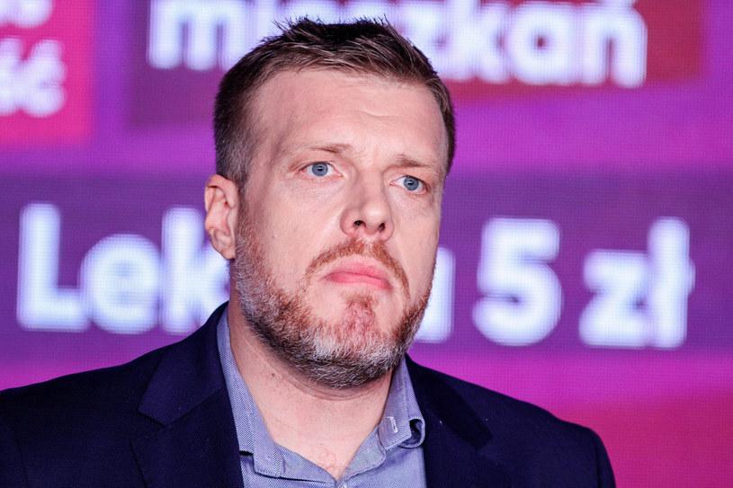 Adrian Zandberg: Lewica proponuje 7-proc. podatek cyfrowy od przychodów największych korporacji jak Google i Facebook /Fot. Artur Szczepański/REPORTER /East News